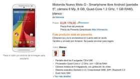 Ya puedes comprar el nuevo Motorola Moto G en España