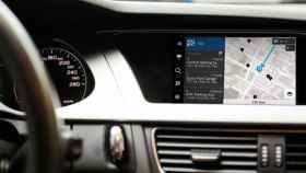 Sistema de navegación de Nokia en un automóvil.
