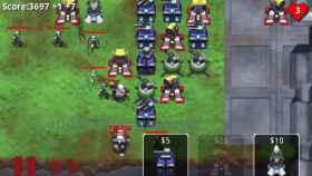 Robo defense, coloca tus torres y defiende el terreno