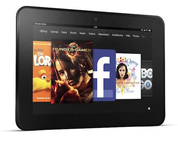 Kindle Fire HD - 8.9, Landscape