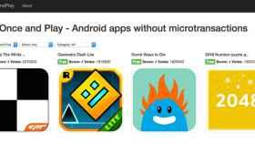 Una web recopila los juegos sin compras in app