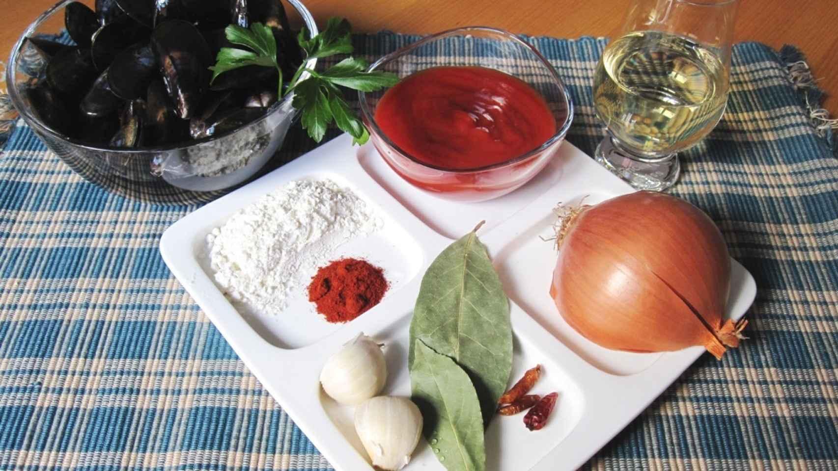 Mejillones de roca en salsa picante 1