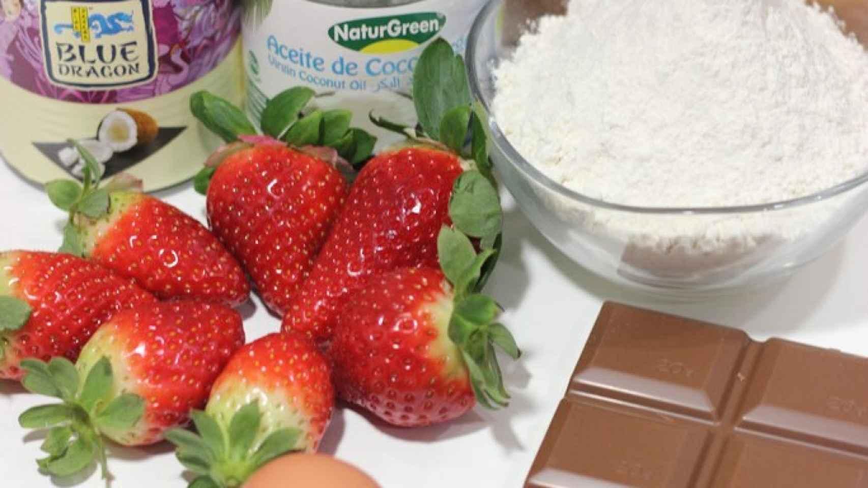 Crepes de coco rellenas - Ingredientes