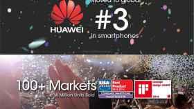 Huawei se convierte en el segundo mayor fabricante Android