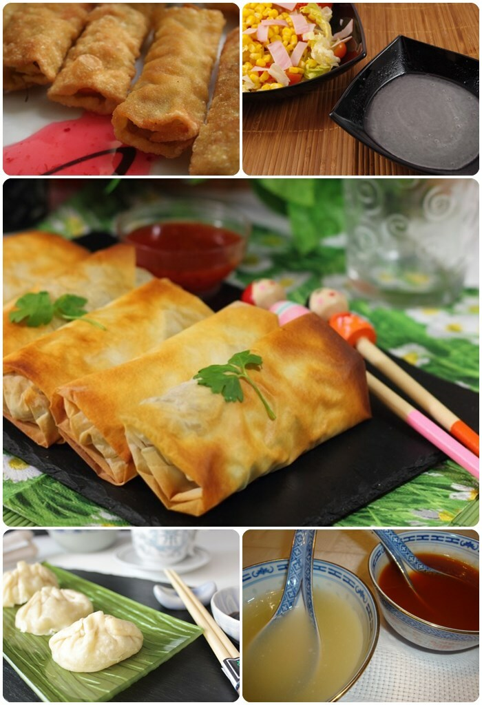 Entrantes comida china