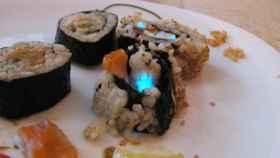 cocinillas sushi fluorescente