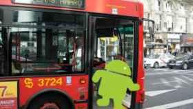 Android y el transporte público