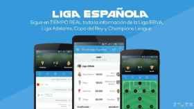 Footbup – Liga Española, sigue la mejor liga del mundo en directo con tu Android