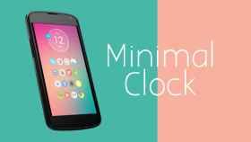Minimal Clock: un reloj elegante y minimalista para tu Android