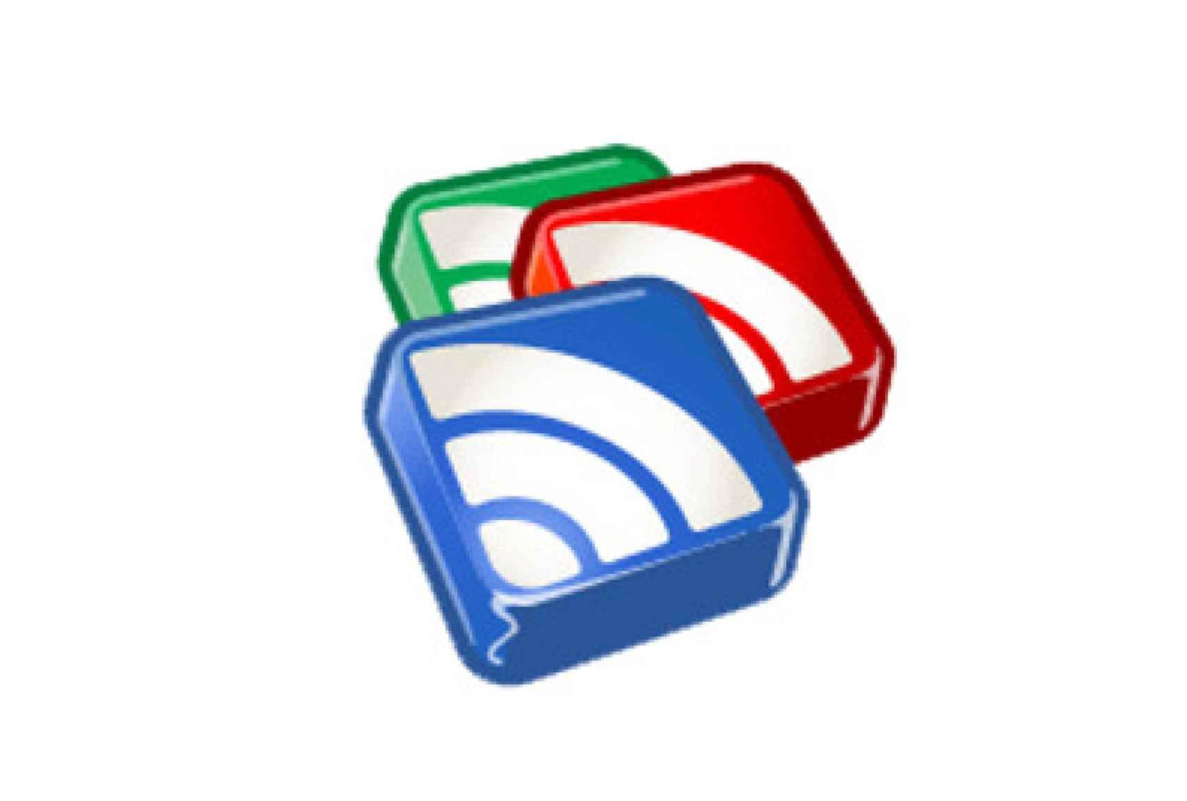 El logo de la antigua Google Reader