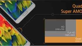 Así es la pantalla del Samsung Galaxy Note 4: calidad y bajo consumo