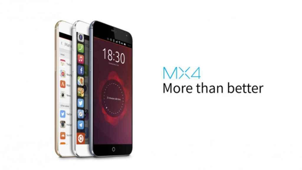 meizu mx4 ubuntu edition 1
