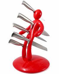 soporte de cuchillos sádico