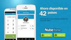 Nubefone, la app para llamar a fijos y móviles, ya disponible en 42 países