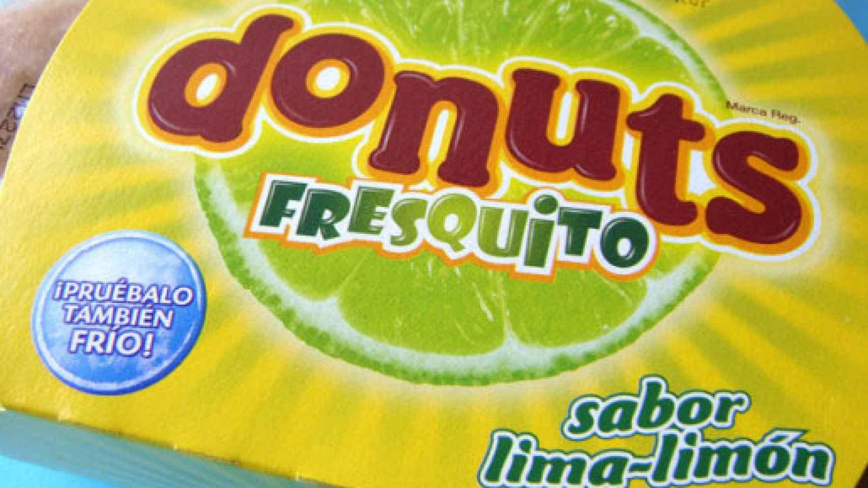 Un donut, en una imagen de archivo.