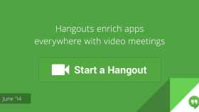 Google crea un botón Hangouts para que las empresas lo integren en sus webs y Apps