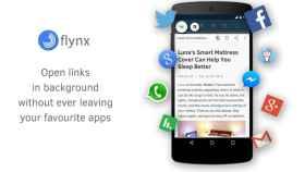 Abre enlaces en burbujas con Flynx, el navegador flotante