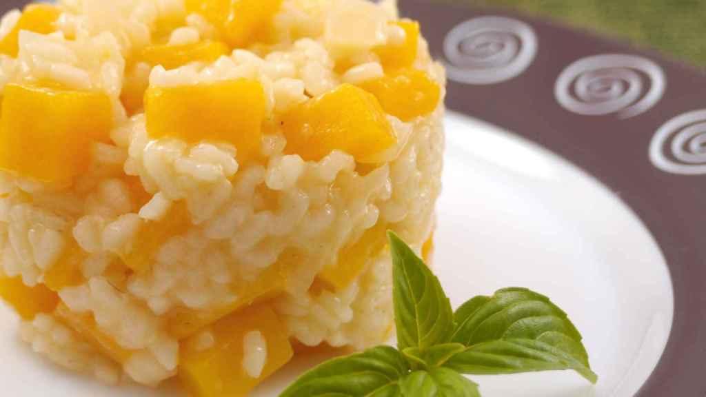 risotto de calabaza