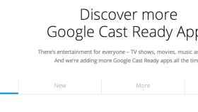 Descubre todas las apps para Chromecast clasificadas en su web oficial