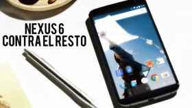 Comparativa: Nexus 6 contra el resto