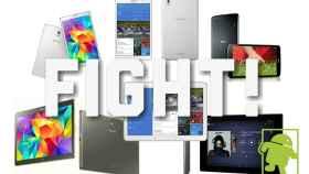 Comparativa técnica: Samsung Galaxy Tab S frente a su competencia Android