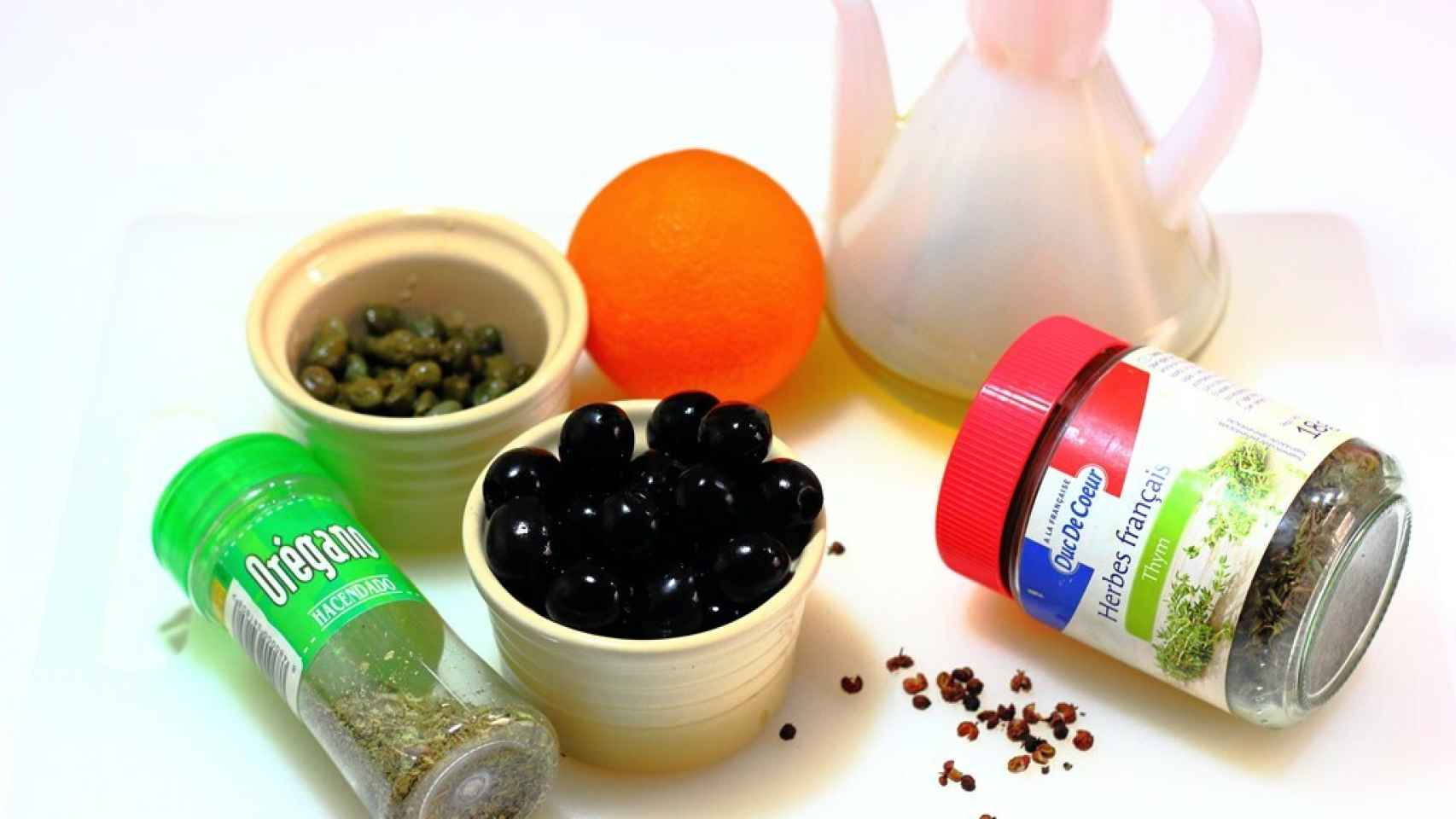 Tapenade de aceitunas negras Ingredientes
