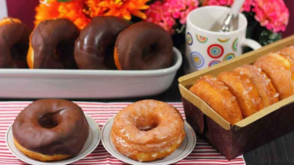 Donuts caseros sin azúcar