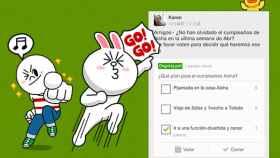 LINE Band, la nueva app que junta a tus amigos en grupos para comunicarte de manera privada