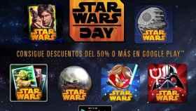 Google Play y Amazon ofrecen descuentos para celebrar el día de Star Wars
