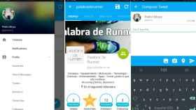 TweetComb, un cliente Material Design de Twitter para Android