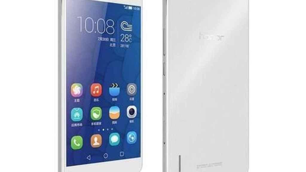Huawei Honor 6 Plus, en una imagen de archivo.