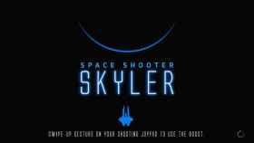 Conquista planetas en una nave espacial con Space Shooter Skyler