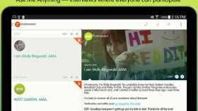La app oficial para AMA's de Reddit ya disponible en Android
