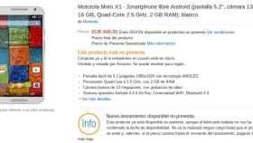Motorola Moto X, ya disponible para comprar en pre-reserva