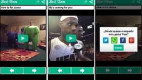 Los mejores y más populares vídeos de Vine en tu Android con Best Vines