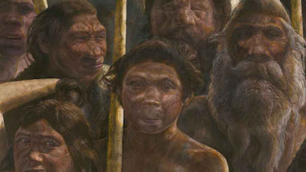 Homínidos de Atapuerca.