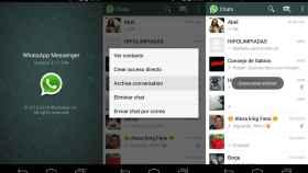 WhatsApp ya permite archivar conversaciones en su última beta [APK]