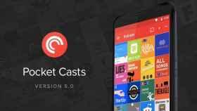 Pocket Casts 5.0 se actualiza con Material Design, Up Next y más