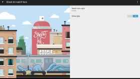 Google Street Art, el primer watchface oficial para Android Wear