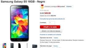 Oferta: Samsung Galaxy S5 por 519€ en Rakuten