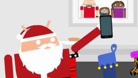 El Papá Noel Androide, la última campaña de Google para Navidad