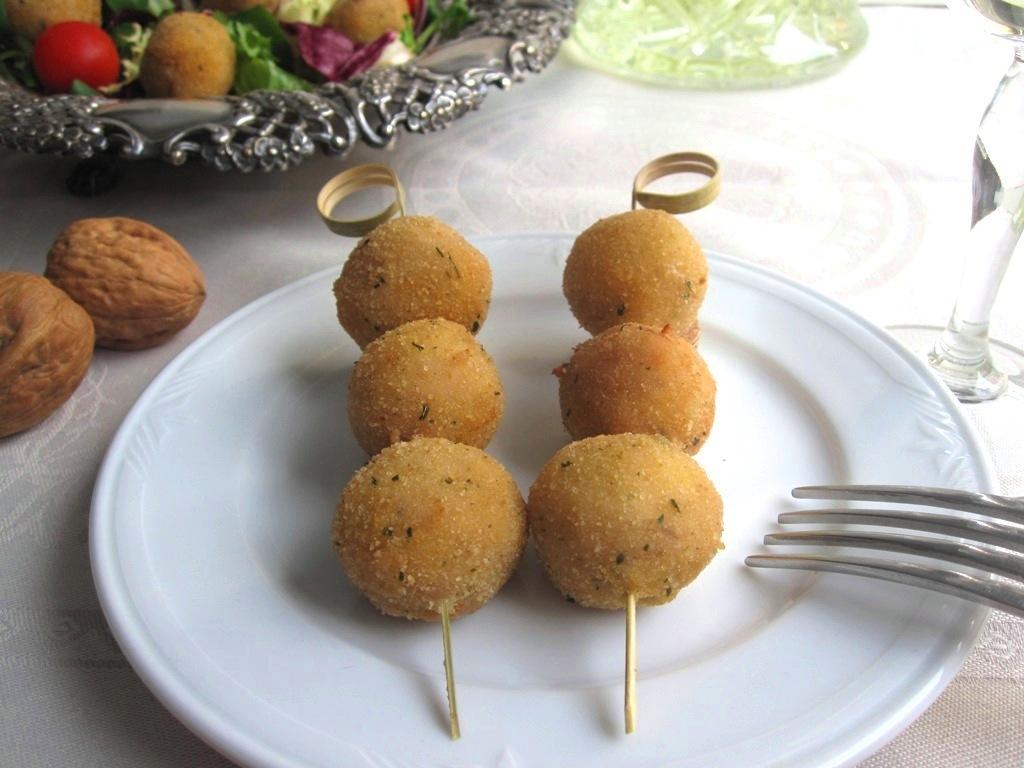 Croquetas de Parmesano y nueces 17
