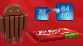 Intel anuncia Android 4.4 KitKat de 64 bits y su futuro SoC Braswell