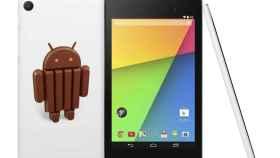 Nexus 7 2013 se actualiza a Android 4.4.3 KitKat