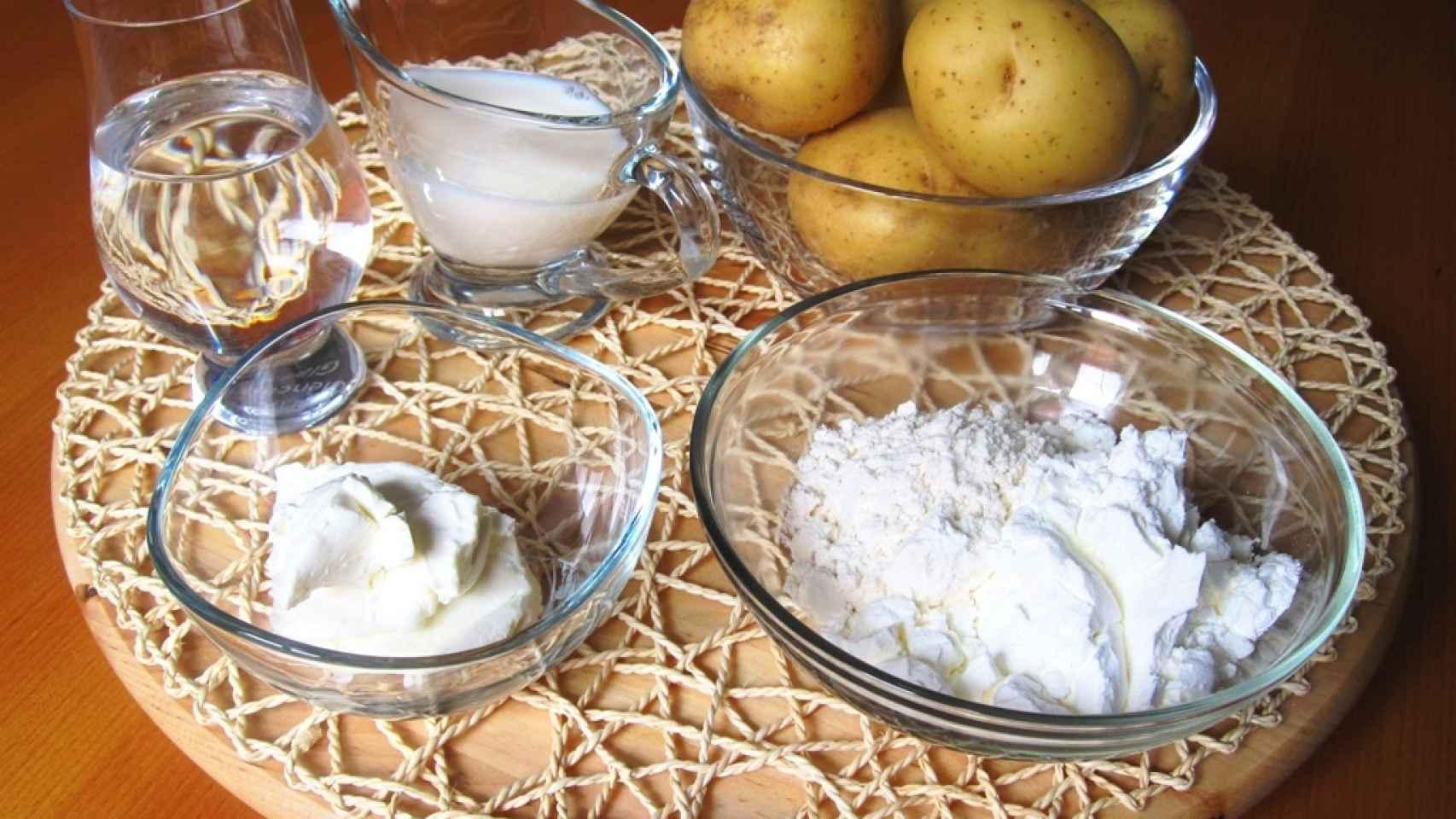Tortilla de patatas sin huevo 1