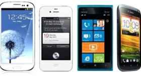 El mundo de los Smartphones es cosa de dos