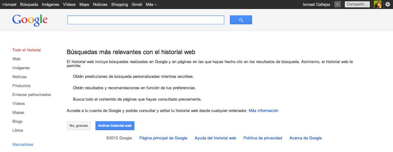 historial busqueda google 1