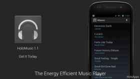 HoloMusic: Ahorra batería mientras escuchas tu música