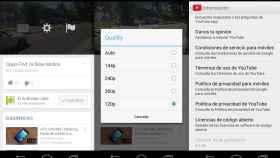 Youtube 5.7 ya nos permite elegir la resolución exacta de los vídeos