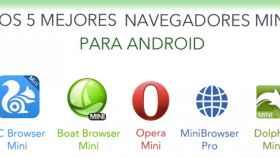Los 5 mejores navegadores mini para Android